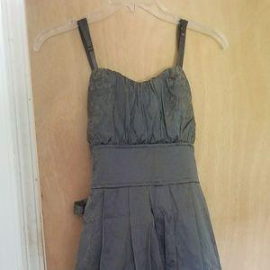 Gray Snap brand Size 9 Short Formal Dress